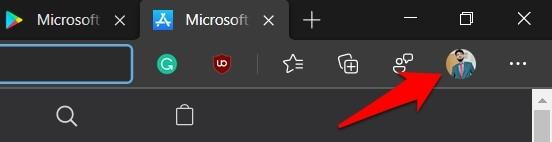 Icono de perfil de Microsoft Edge