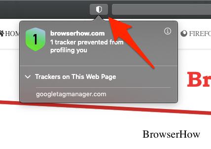 Safari Tracker en esta vista del sitio web
