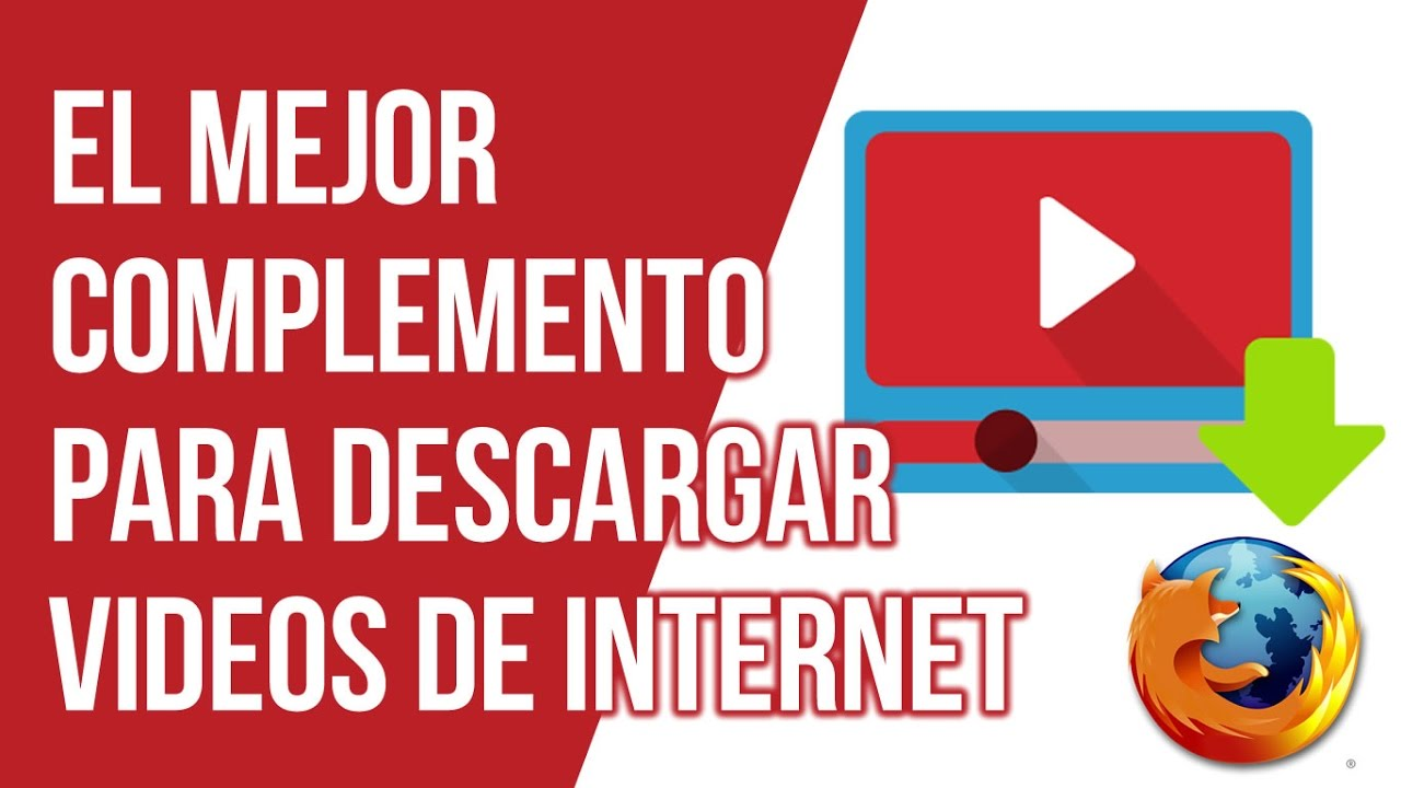 descargar vídeos online con los complementos de Firefox