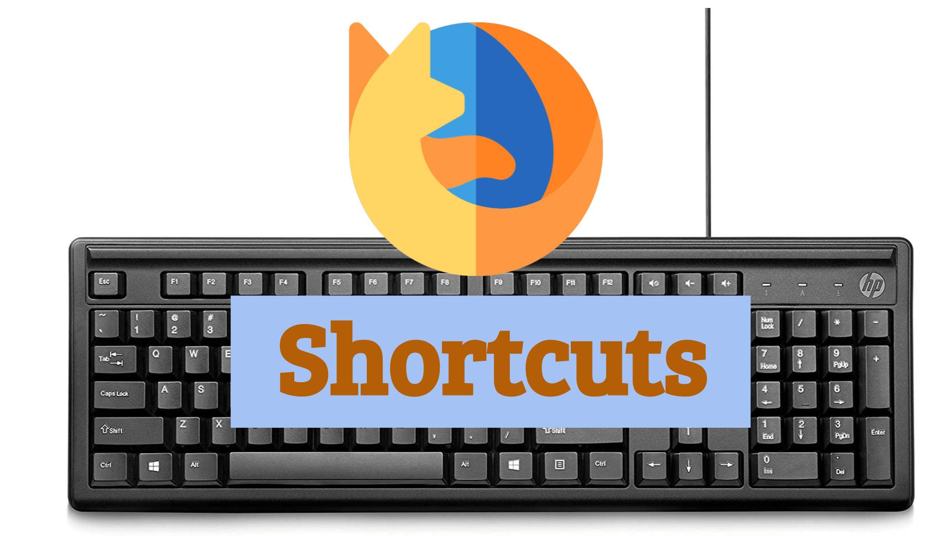 atajos de teclado Firefox